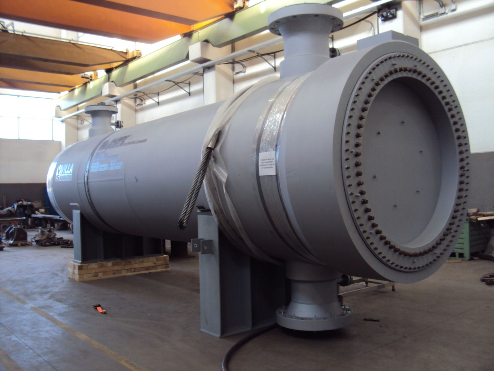 Breech Lock Heat Exchangers Villa Scambiatori